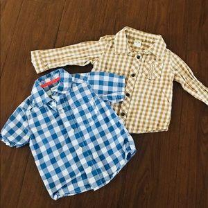 ♠️pair of boys nice shirts